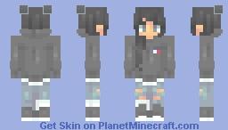i want you here Minecraft Skin