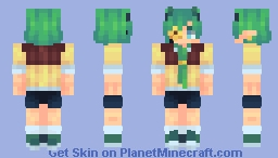 HAPPY BIRTHDAY VINCIE!~ Minecraft Skin