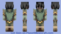 Earth Bender | Legends of Korra | コラの伝説 Minecraft Skin