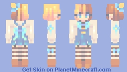 SF- canday Minecraft Skin