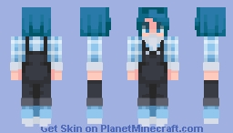 """how about we just,, all cuddle and calm down?? no need to stress when there's cuddles!!"" Minecraft Skin"