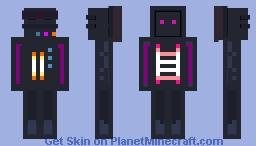 PolyBit v3 Minecraft Skin