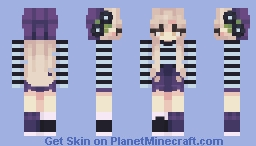 Feeling French (Female Pack) Minecraft Skin