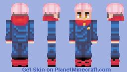 Yuji Itadori Minecraft Skin