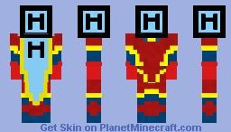 Helium Man! Minecraft Skin