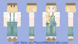 Shannon, Who Keeps Bees Minecraft Skin
