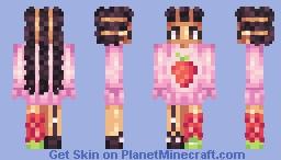 strawberry shortcake Minecraft Skin