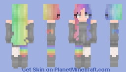Rainbows~ Minecraft Skin