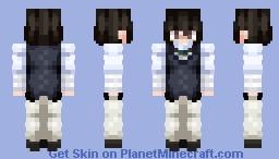 ~ Osamu Dazai ~ | Bungo Stray Dogs Minecraft Skin