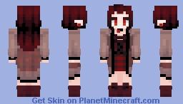 cool vampire (java version Minecraft Skin
