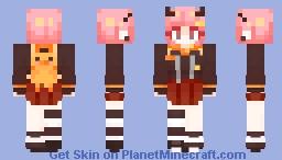 Ultra Danganronpa: Bittersweet Despair: Maya Hokane Minecraft Skin