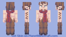 mr tumnus Minecraft Skin