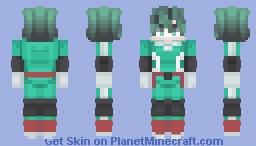 💚DEKU (original suit)💚 Minecraft Skin