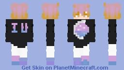 Sniffle, IU is so pretty Minecraft Skin