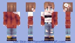 💛🌷 𝙁𝙡𝙤𝙪𝙧𝙞𝙨𝙝 {𝘚𝘬𝘪𝘯 𝘙𝘢𝘧𝘧𝘭𝘦 𝘗𝘳𝘪𝘻𝘦 #1} 🌷💛 Minecraft Skin
