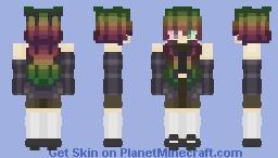 [ Cute Spring Girl ~ St. Patrick's Day, Rainbow ] Minecraft Skin