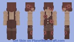 steampunk // skintober 10 Minecraft Skin