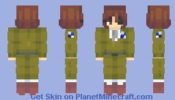 hange zoë Minecraft Skin