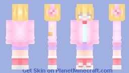 Skin for Pinkcappuccino Minecraft Skin