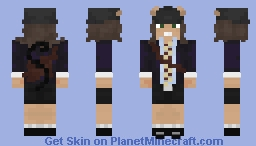Angus Young Highway To Hell Album Cover Minecraft Skin