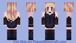 Misa Amane (Death Note) Minecraft Skin