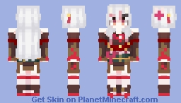 Hololive / Nakiri Ayame but its a redo part 2 Minecraft Skin