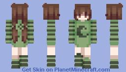 tired Minecraft Skin