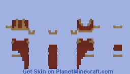 Wood Elf Dress (Don't Wear on LoTc!) Minecraft Skin