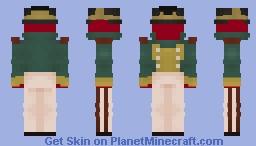 [HRP] San Valentino Dragoon Minecraft Skin