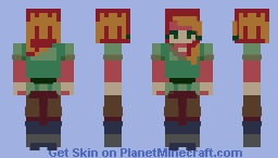 Alex Remake Minecraft Skin