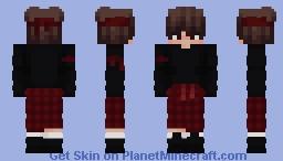 Red Eboy Minecraft Skin