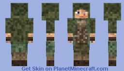 Forest archer Minecraft Skin