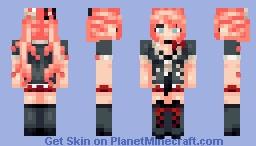 It's Enoshima Junko-cHAN! Minecraft Skin