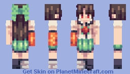 霊知の太陽信仰 ~ Nuclear Fusion Minecraft Skin