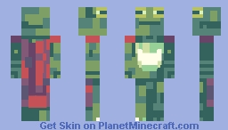 Ribbit Minecraft Skin