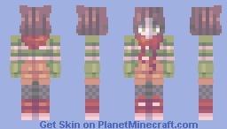 'Tis the season Minecraft Skin