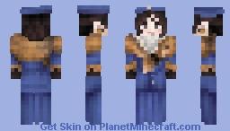 Victorian Fox Huntress Minecraft Skin