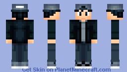 Tunnel vision Minecraft Skin