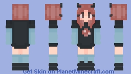 another pink haired girl Minecraft Skin