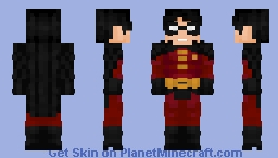 Tim Drake Minecraft Skin