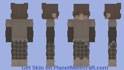 earthy tones (boy vers.) Minecraft Skin