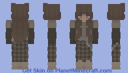earthy tones Minecraft Skin
