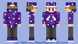 To the stars Minecraft Skin