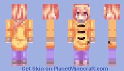 Saki (100% Orange Juice) Minecraft Skin