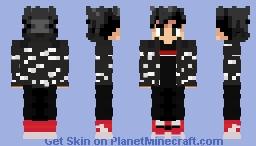 Drip goku Minecraft Skin