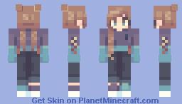 Slime Time (Secret Santa) Minecraft Skin