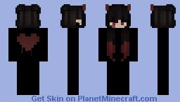 Liquid Hearts Minecraft Skin