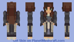 i hearby dub thee, formal-but-tbh-it's-more-semi-formal-version-of-my-persona-mistress-inzanee-slaughterhouse-of-earlobia (and yes, that is her full title) Minecraft Skin