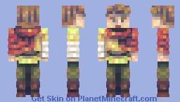 A Plague Tale - Hugo De Rune Minecraft Skin