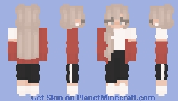 can't get over you - female Minecraft Skin